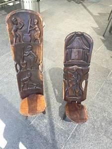 Möbel Aus Afrika : 1 afrika stuhl steckstuhl 2 teile geschnitzte r ckenlehne in m nchen sonstige m bel ~ Markanthonyermac.com Haus und Dekorationen
