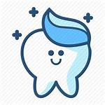 Dental Dentist Tooth Icon Character Molar Paste
