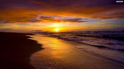 Sunset Beach Wallpapers Summer
