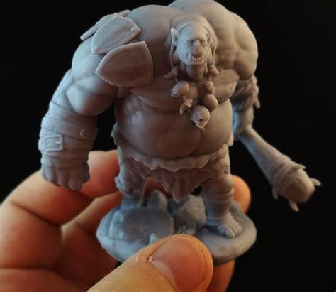 3D Printable Ogre Mauler Miniature by Epics N Stuffs