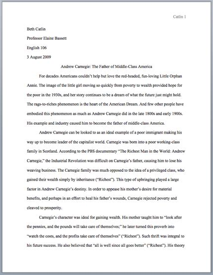 mla format essay general format purdue writing lab