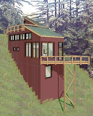 steep slope house plans 43 best house on slope images on architecture homes and live