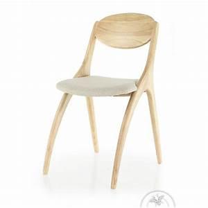 Chaise Bois Scandinave : chaise design scandinave bois naturel orsay saulaie ~ Teatrodelosmanantiales.com Idées de Décoration