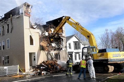 cohoes razes fire damaged building times union