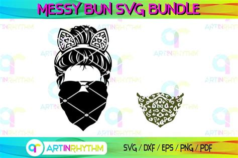 Check spelling or type a new query. Messy Bun With Cat Ears Headband Svg, Messy Bun Svg, Skull ...