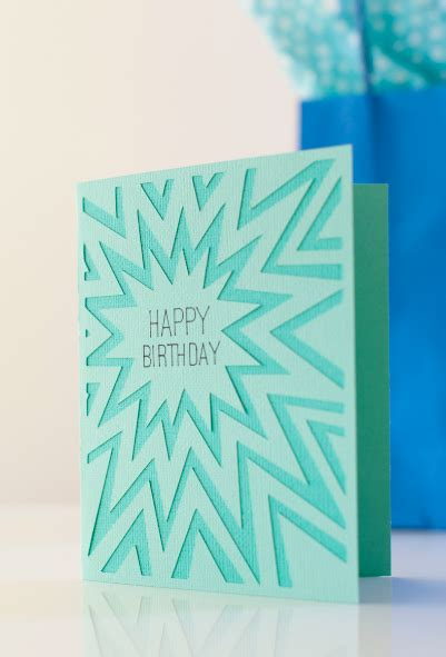 free birthday card template cricut explosion happy birthday card make it now in cricut