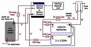 12 Volt Battery System Wiring Diagram From Generator To
