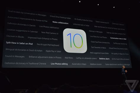 The 13 biggest announcements from Apple WWDC 2016  The Verge