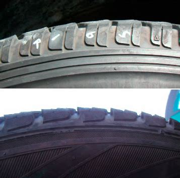 heel  toe wear tire check  tire care safety