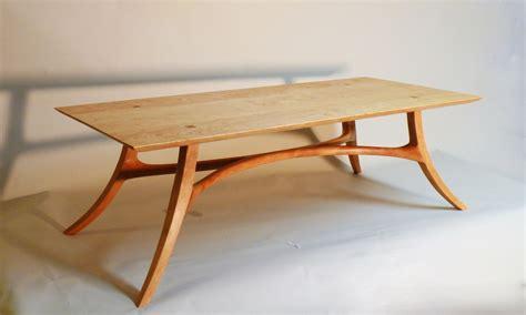Handmade Sam Maloof Inspired Cocktail Table by J. Blok