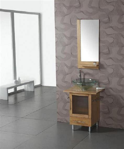 24 inch vessel sink vanity 24 inch modern single sink bathroom vanity with clear