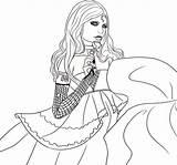 Coloring Vampire Pages Rosario Popular sketch template