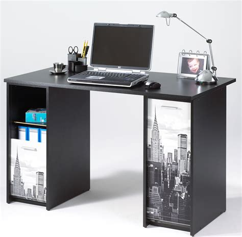 bureau complet bureau gain de place table pivotante york building noir
