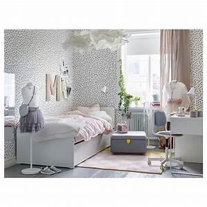 Lit Tiroir Ikea : sl kt lit tiroir rangement blanc 90 x 200 cm ikea ~ Teatrodelosmanantiales.com Idées de Décoration