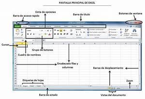 Tareas Din U00c1micas   Entorno Y Barra De Herramientas De Excel