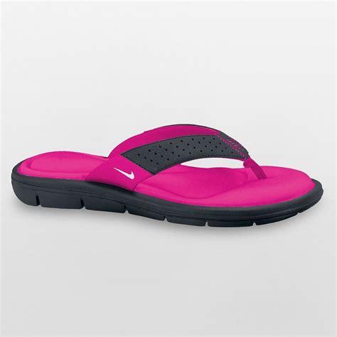 nike comfort flip flops womens 35 nike s comfort flip flops sandals black