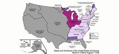 States United Map Evolution America Territorial Animated