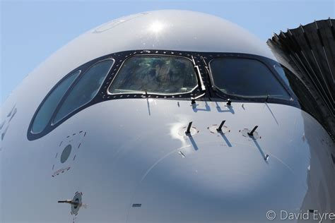 Singapore Airlines Airbus A350 Visits Perth On 50th