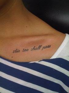 Quote tattoos, Girl quote tattoos and Tattoos for girls on ...