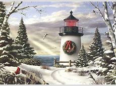 Sailing On By Box of 18 Alan Giana Christmas Cards by LPG