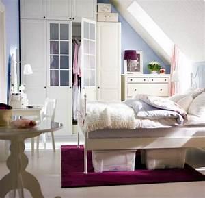 Bett Unter Schräge : aufbewahrungsideen im schlafzimmer 35 ausgekl gelte l sungen ~ Sanjose-hotels-ca.com Haus und Dekorationen