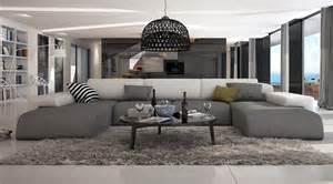 grand canape en u ce grand canap 233 d angle en u conf 233 rera 224 votre salon moderne un look irr 233 sistible gr 226 ce 224 ses