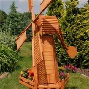 Moulin a vent jardin moulin vent en bois 42x17cm for Good moulin en pierre pour jardin 0 moulin de jardin syma mobilier jardin moulin decoratif
