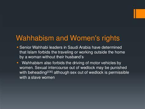 Saudi Arabia And Wahhabism