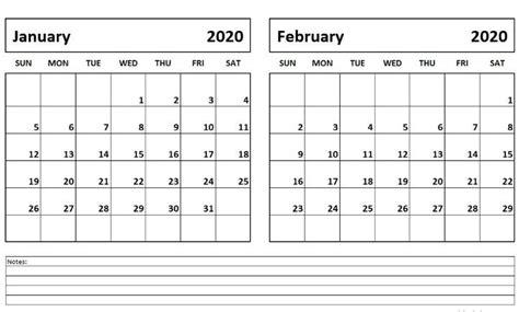january february  calendar printable calendar