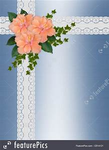 birthday invitation creator free illustration of wedding invitation hibiscus lace