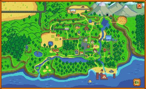 map stardew valley wiki fandom powered  wikia