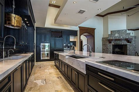 black kitchen cabinets with floors 35 luxury kitchens with cabinets design ideas 9296