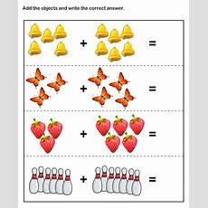 Math Skills Worksheets  Free Printable Kindergarten Math Worksheets  Math Worksheets Pinterest