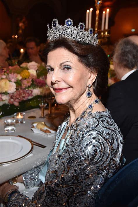 Queen Silvia of Sweden Best-Dressed at Nobel Prize Ceremony