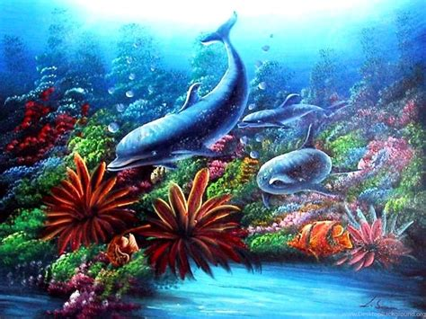 Fish Aquarium Wallpaper Animated - wallpapers moving fish animated aquarium 4 1024x768