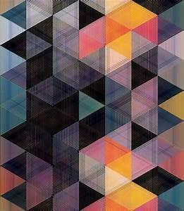 geometric patterns on Tumblr