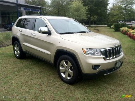 beige jeep grand 2011 white gold metallic jeep grand cherokee limited 4x4