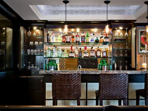 Bar With Shelves by Kitchen Bar With Glass Shelves Pictures Decorations