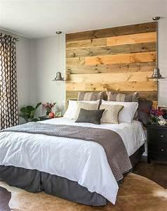 Tete De Lit Moderne : tete de lit originale en bois ~ Preciouscoupons.com Idées de Décoration