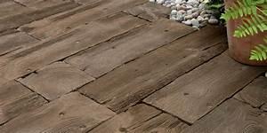 Dlažba na terasu imitácia dreva