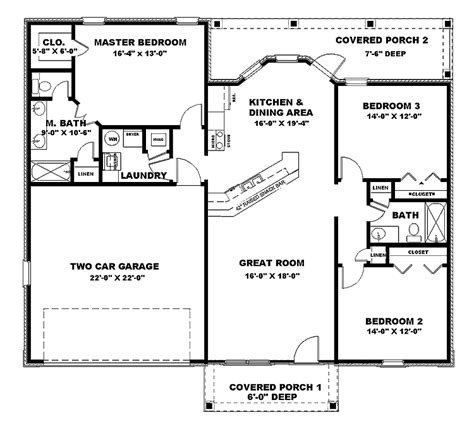 1500 sq ft floor plans 1500 sq ft house plans country house plan 79294 house