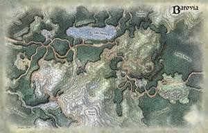 Dungeons and Dragons Ravenloft Maps