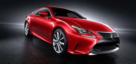lexus cars red lexus rc coupe getting new red paint color autoevolution
