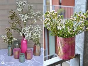Vasen Selber Machen : hochzeitsblumendeko selbermachen diy tipps ~ Lizthompson.info Haus und Dekorationen