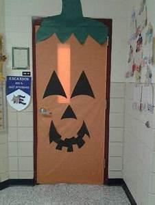 Halloween door decor for classroom