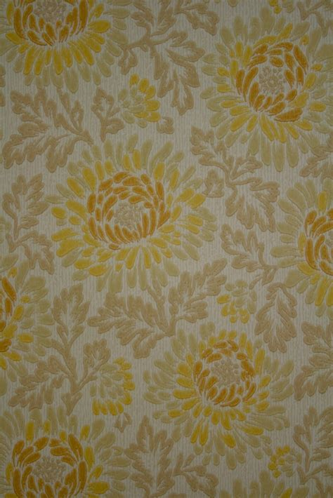 floral wallpaper vintage retro floral walpaper from the 60s
