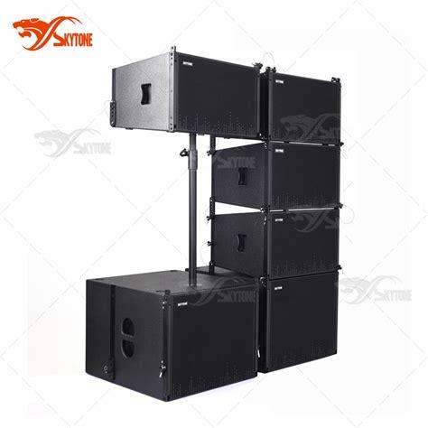 china skytone new design 1x12 quot passive line array speaker box china line array speaker box