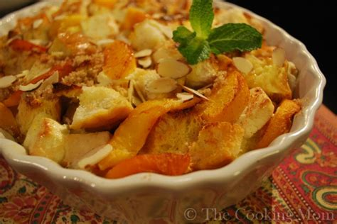 Peaches Cream Baked French Toast The Cooking Mom