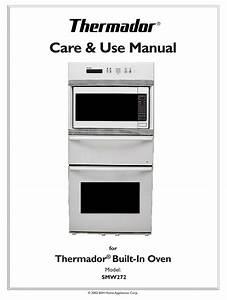 Thermador Smw272 Care  U0026 Use Manual Pdf Download