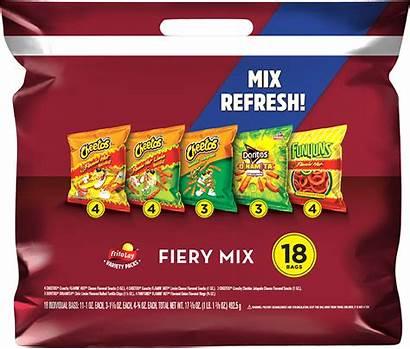 Lay Frito Mix Fiery Variety Pack Packs